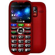 CUBE1 S100 Senior červená - Mobilní telefon