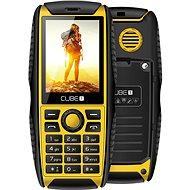 CUBE1 S200 žlutá - Mobilní telefon