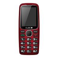 CUBE1 S300 Senior červená - Mobilní telefon