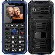 CUBE1 S400 Senior modrá - Mobilní telefon