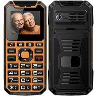 CUBE1 S400 Senior oranžová - Mobilní telefon