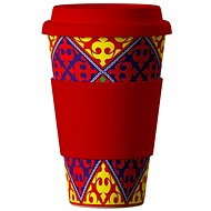 AREON Bamboo Cup Ornaments Red 400 ml - Termohrnek