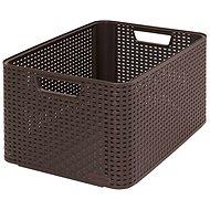 Curver STYLE BOX L, 03616-210 - hnědý - Úložný box
