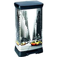 Curver Odpadkový koš DECOBIN NEW YORK - Odpadkový koš
