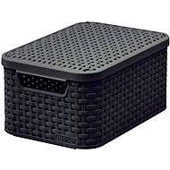 Curver Úložný box RATTAN Style2 s víkem S - Úložný box