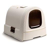 Curver Toaleta pro kočky Rattan 00615-P16 - Kočičí toaleta