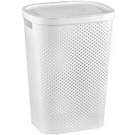 Curver Koš na špinavé prádlo INFINITY 59L - bílý - Koš na prádlo