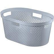 Curver Koš na čisté prádlo INFINITY 39L- šedý - Koš na prádlo