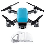 DJI Spark Fly More Combo - Sky Blue + DJI Goggles - Smart drone