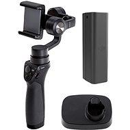 DJI Osmo Mobile + základna + inteligentní akumulátor - Držák na mobilní telefon