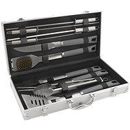 CATTARA Grilling Tools GREY LINE Set  of 11pcs ALUMINIUM Case - Grill Set