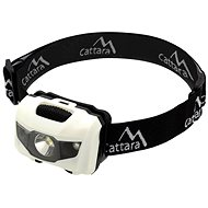 Cattara Headtorch LED 80lm Black and White - Headlamp