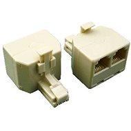 Datacom UTP CAT3 3xRJ11 (6p4c-1M/2F)