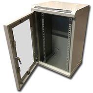 "Datacom 10"" 12U/280 mm (sklo) šedý"