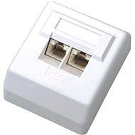 Datacom Datová zásuvka UTP CAT5E na omítku 2000 - Zásuvka