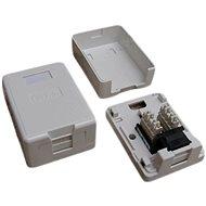 Datacom Datová zásuvka UTP CAT5E na omítku 2333 - Zásuvka