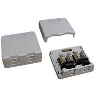 Datacom Datová zásuvka UTP CAT5E na omítku 2334 - Zásuvka