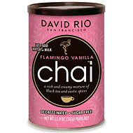 David Rio Flamingo Vanilla Chai, Decaffeinated, Sugar-free, 337g - Syrup