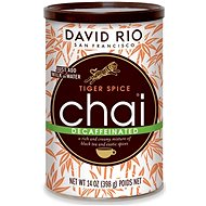 David Rio Tiger Spice Chai Decaffeinated, 398g - Syrup