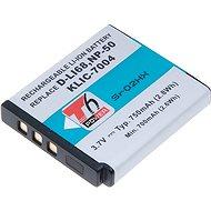 PENTAX T6 power Pentax D-Li68, Kodak KLIC-7004,  Fuji NP-50 - Nabíjecí baterie