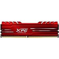 ADATA XPG 4GB DDR4 2666MHz CL16 GAMMIX D10, červená - Operační paměť