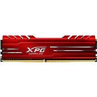 ADATA XPG 8GB DDR4 2666MHz CL16 GAMMIX D10, červená - Operační paměť