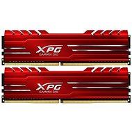 ADATA XPG 16GB KIT DDR4 2666MHz CL16 GAMMIX D10, červená - Operační paměť