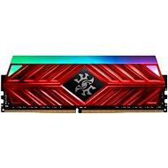 ADATA XPG 8GB DDR4 3000MHz CL16 SPECTRIX D41, červená - Operační paměť