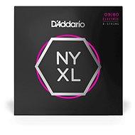 Daddario NYXL 8-String Super Light 09-80 - Struny