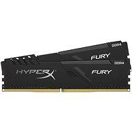 HyperX 16GB KIT DDR4 3600MHz CL17  FURY Black series - Operační paměť
