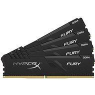 HyperX 32GB KIT DDR4 3600MHz CL17  FURY Black series - Operační paměť