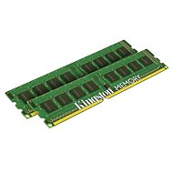Kingston 8GB KIT DDR3 1333MHz CL9 Single Rank - Operační paměť