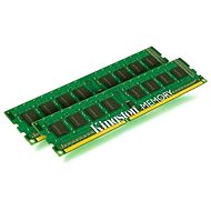 Kingston 16GB KIT DDR3 1333MHz CL9 Single Rank - Operační paměť
