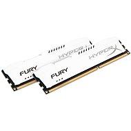 HyperX 8GB KIT DDR3 1600MHz CL10 Fury White Series - Operační paměť