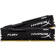 HyperX 8GB KIT DDR4 2133MHz CL14 Fury Black Series - Operační paměť