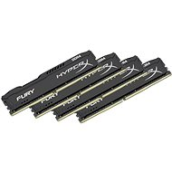 HyperX 16GB KIT DDR4 2400MHz CL15 Fury Black Series - Operační paměť