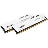 HyperX 16GB KIT DDR4 2666MHz CL16 Fury White Series - Operační paměť