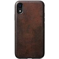 Nomad Rugged Leather Case Brown iPhone XR - Ochranný kryt