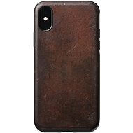 Nomad Rugged Leather Case Brown iPhone XS/X - Ochranný kryt