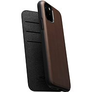 Nomad Folio Leather Case Brown iPhone 11 Pro