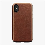 Nomad Rugged Case Rustic Brown iPhone X