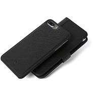 Decoded Leather 2in1 Wallet Case Black iPhone 7 plus/8 plus - Pouzdro na mobilní telefon