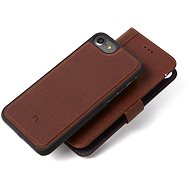 Decoded Leather 2in1 Wallet Case Brown iPhone 7/8/SE 2020 - Pouzdro na mobil