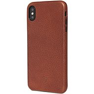 Decoded Leather Case Brown iPhone XS Max - Kryt na mobil