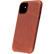 Decoded Leather Backcover Brown iPhone 11 - Kryt na mobil