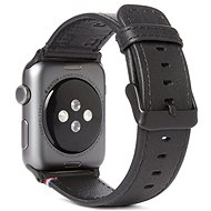 Decoded Leather Strap Black Apple Watch 44/42 mm