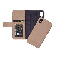 Decoded Leather 2in1 Wallet Case Naturel iPhone X