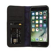 Decoded Leather Wallet Case 2 Black iPhone 8/7/6s/6 - Pouzdro na mobilní telefon