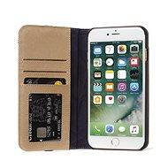 Decoded Leather Wallet Case 2 Sahara iPhone 8/7/6s - Pouzdro na mobilní telefon