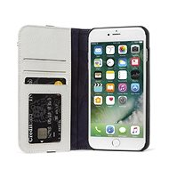 Decoded Leather Wallet Case 2 Grey iPhone 8 Plus/7 Plus/6s Plus - Pouzdro na mobil